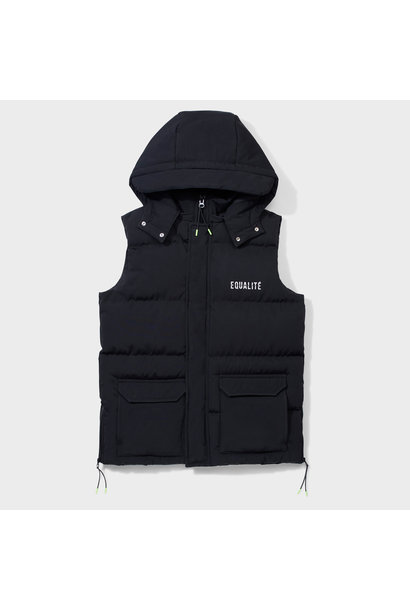 RUE BODYWARMER BLACK