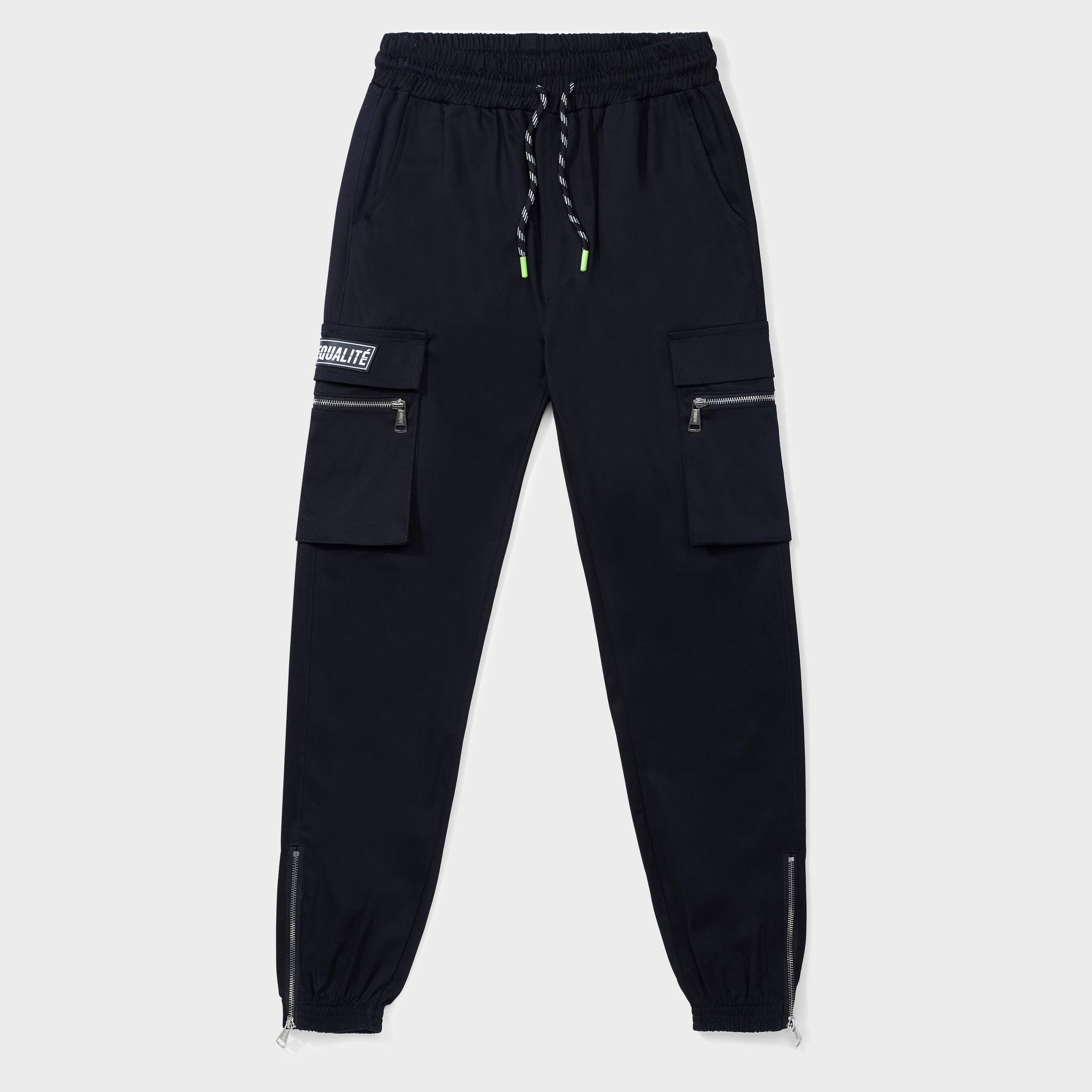 FUTURE CARGO PANTS BLACK-1