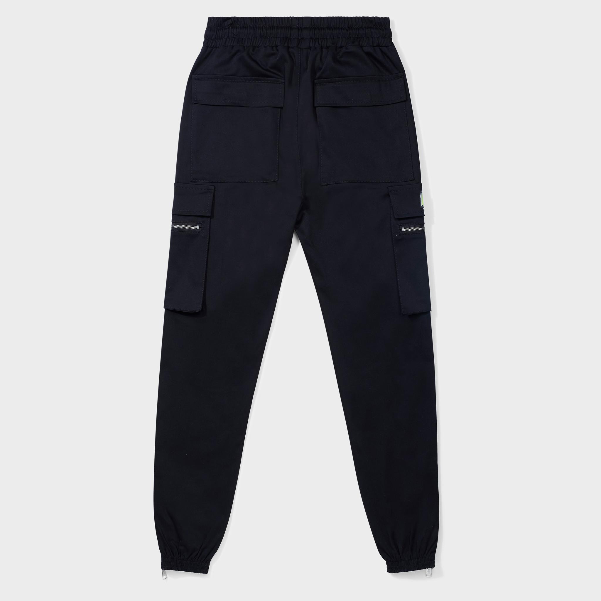 FUTURE CARGO PANTS BLACK-2