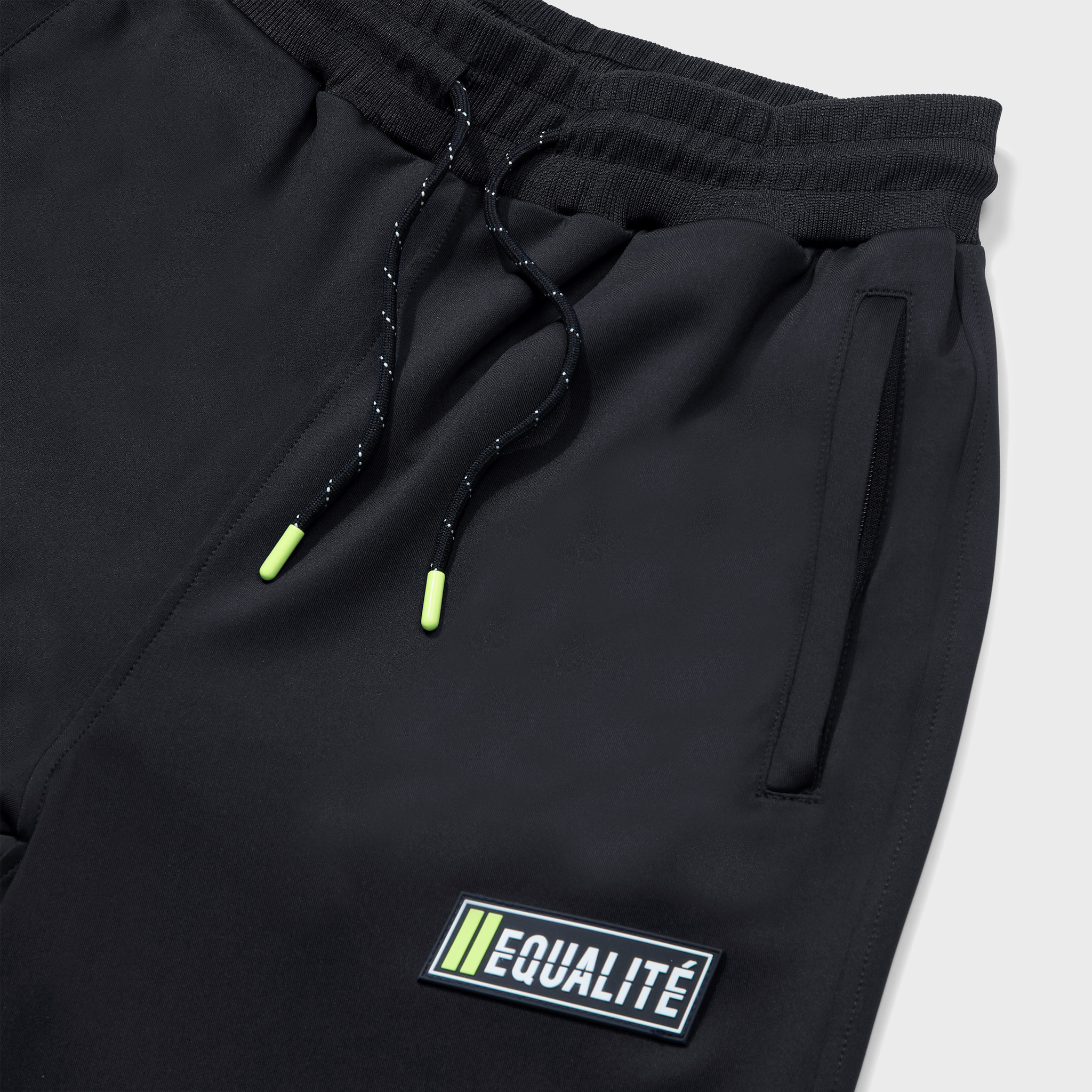 FUTURE POLYESTER TRACKSUIT BLACK & GREY-5