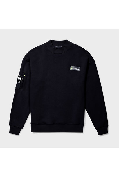 DIVERSITY SOFT SWEATER BLACK