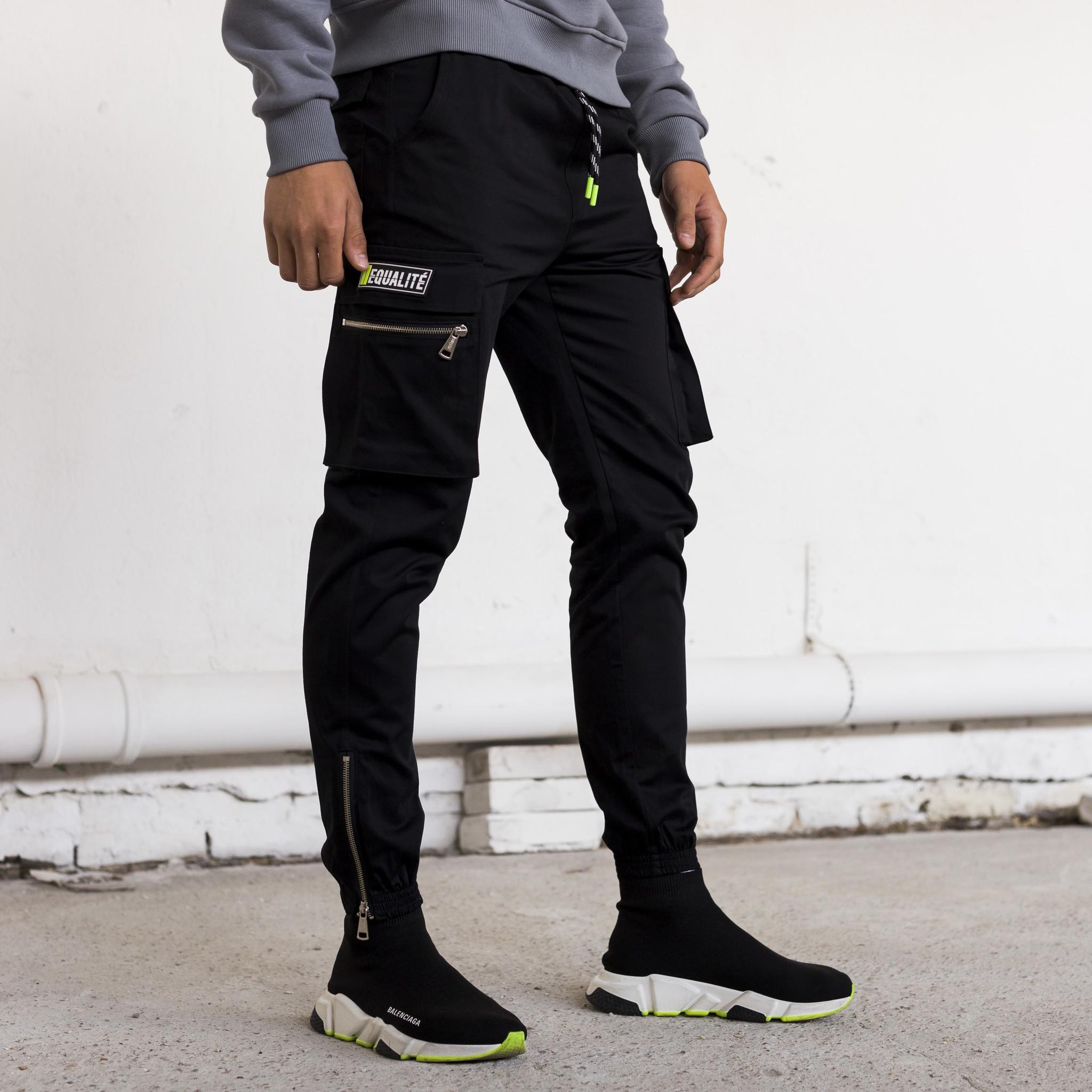 FUTURE CARGO PANTS BLACK-7