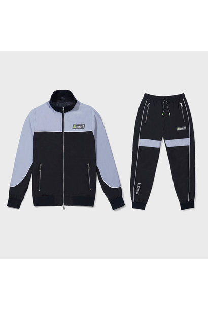 SPACE TRACKSUIT BLACK & GREY