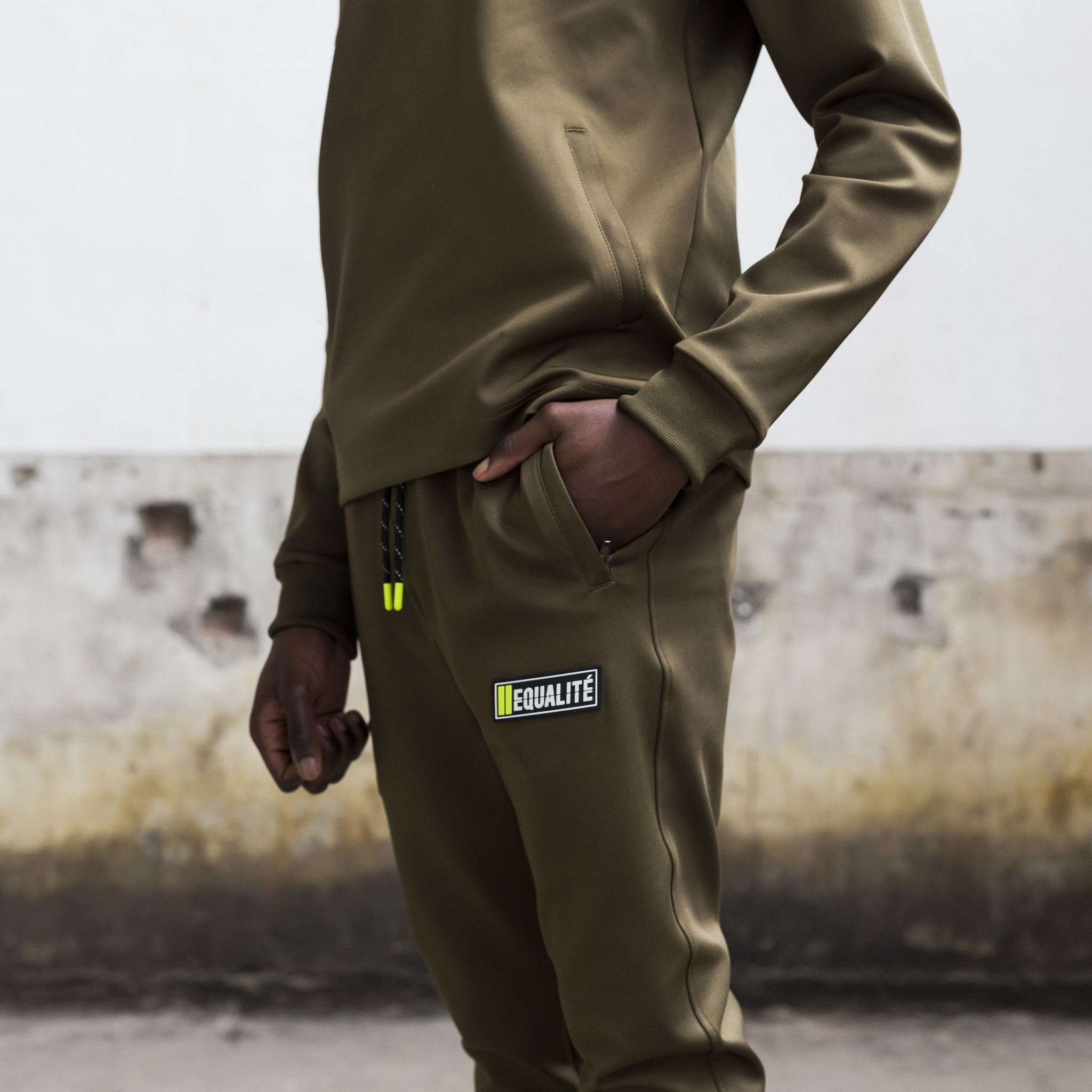 FUTURE POLYESTER TRACKSUIT ARMY & GREEN-9
