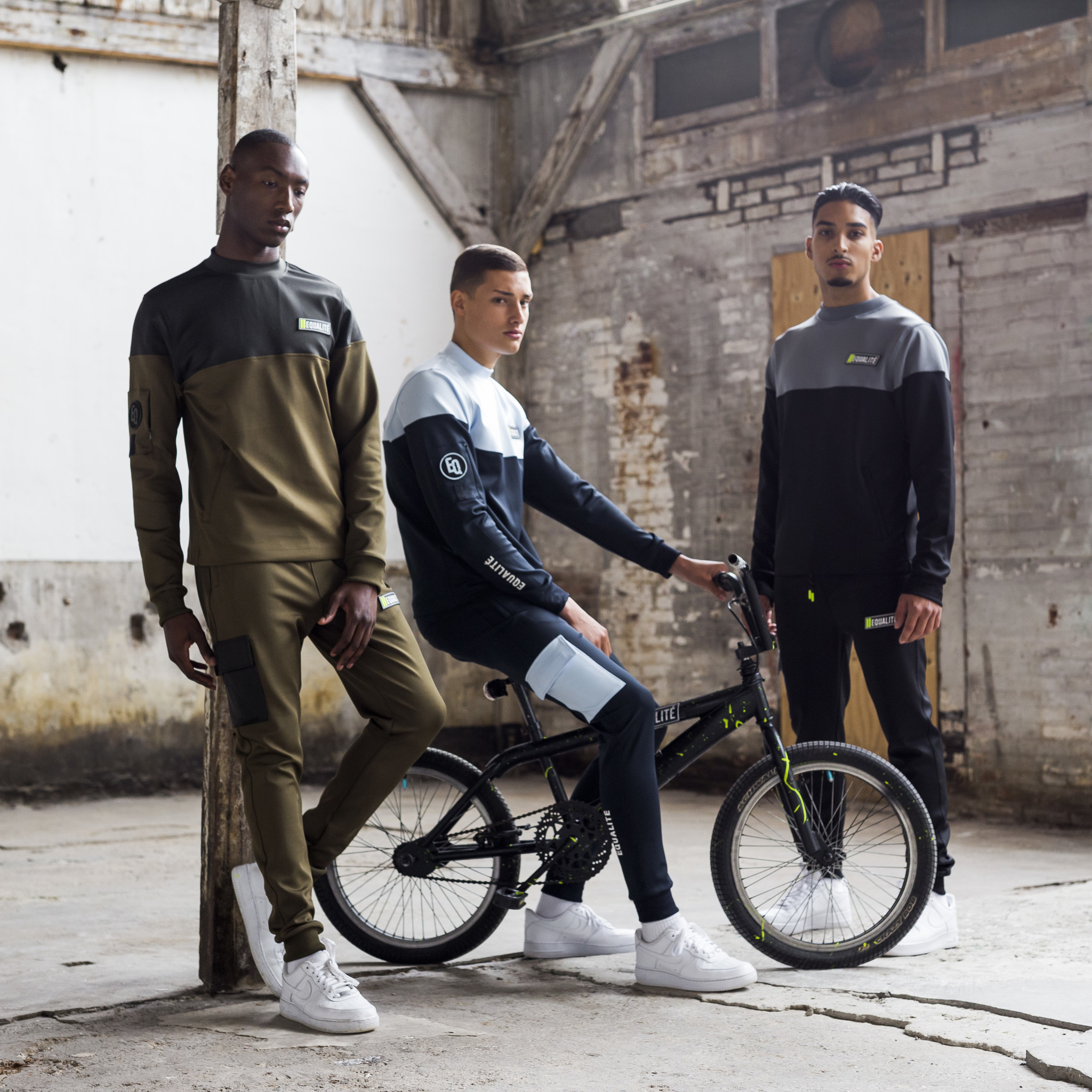 FUTURE POLYESTER TRACKSUIT ARMY & GREEN-10
