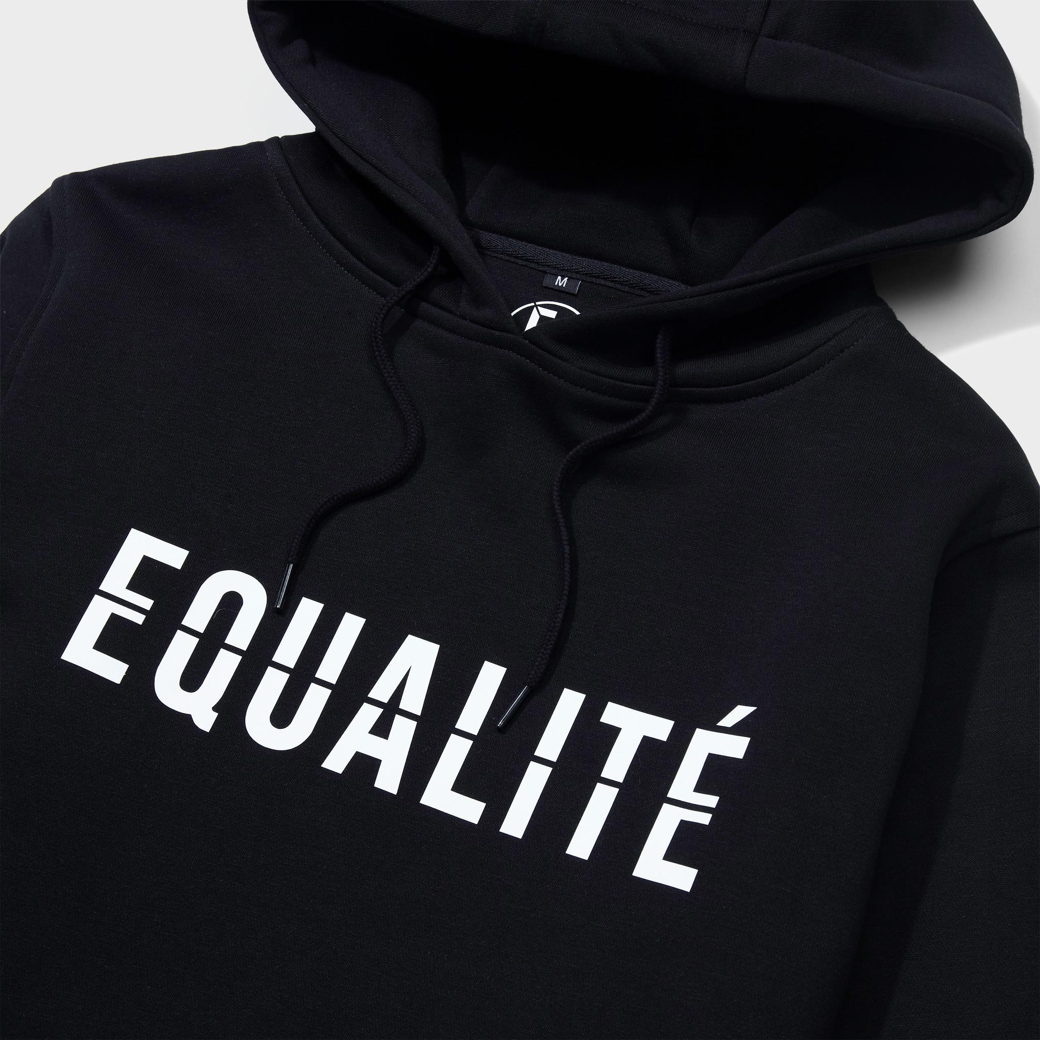 ESSENTIAL HOODIE BLACK-3