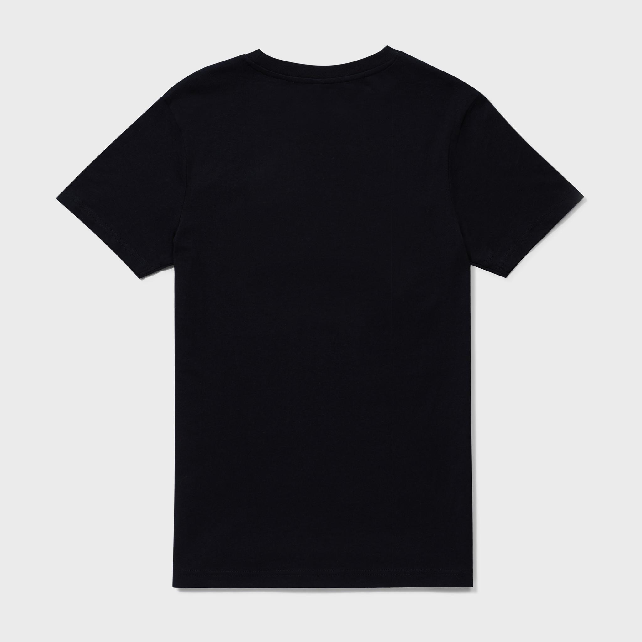 ESSENTIAL TEE BLACK-2