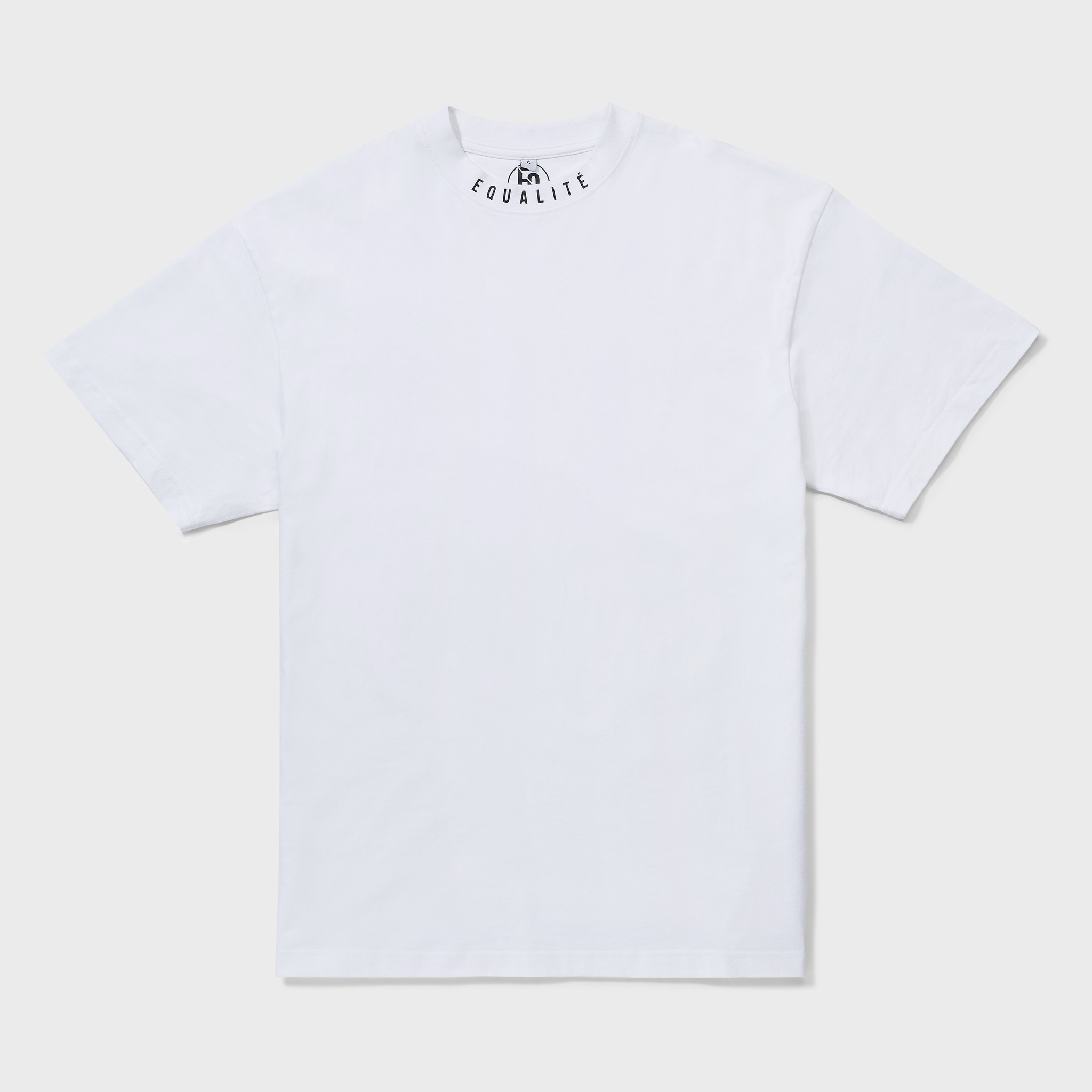 NECK OVERSIZED TEE WHITE-1