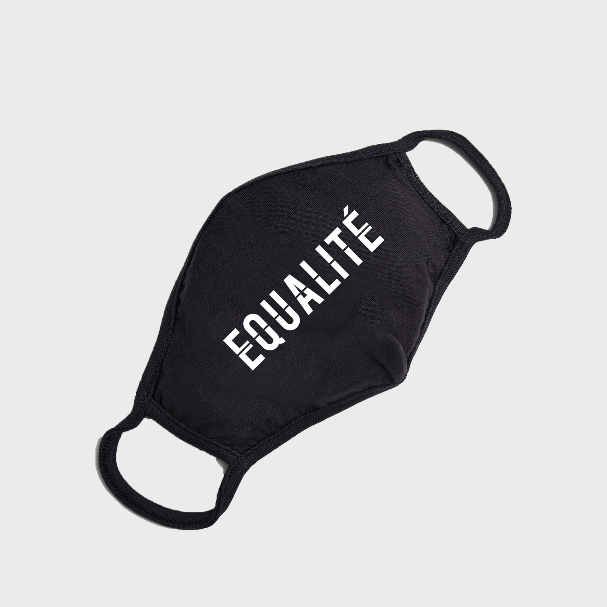 Equalité face mask black-2