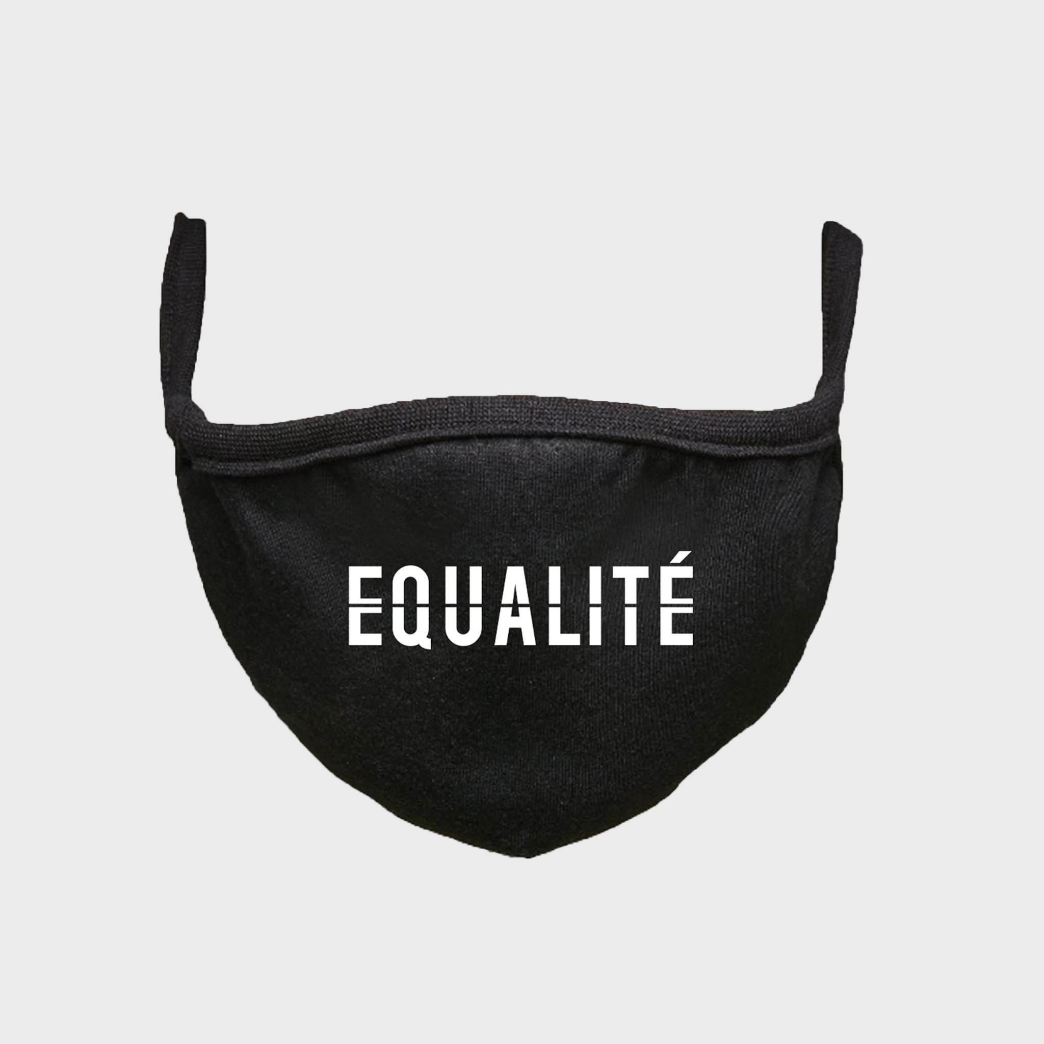 Equalité face mask black-1