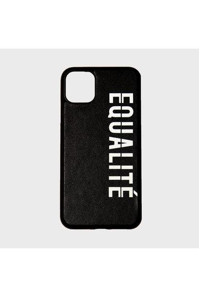 EQUALITÉ IPHONE CASE BLACK