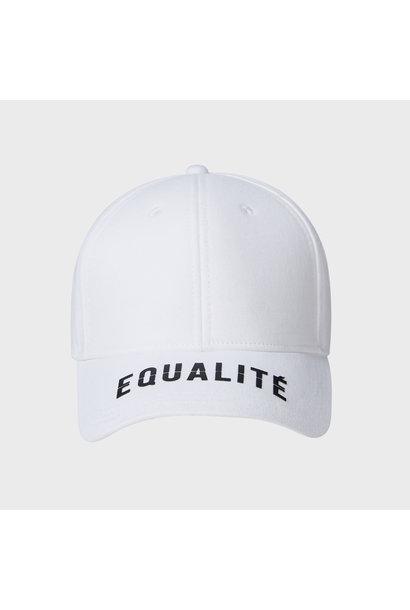 EQUALITÉ CAP WHITE