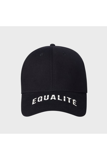 EQUALITÉ CAP BLACK