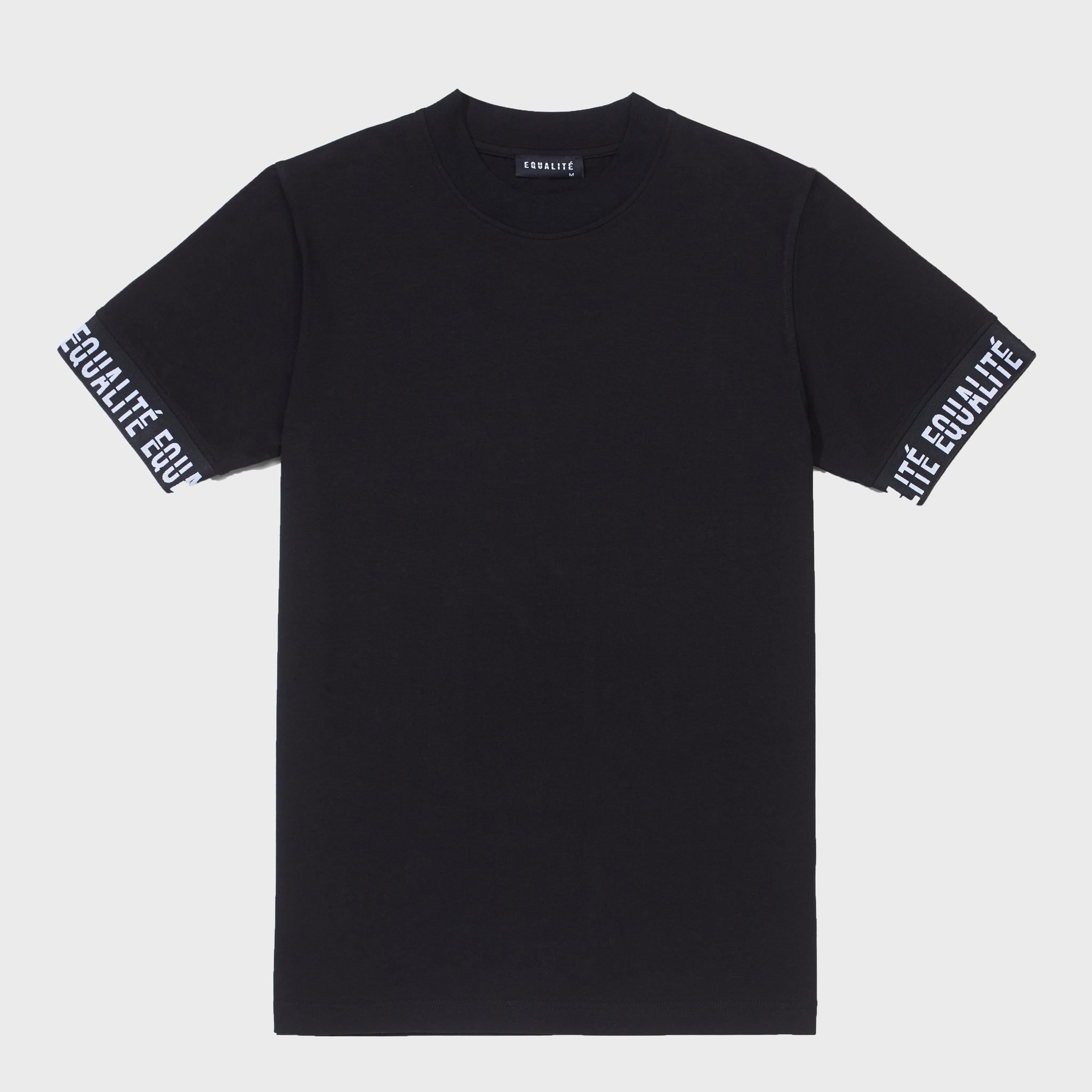 BAND TEE BLACK-1