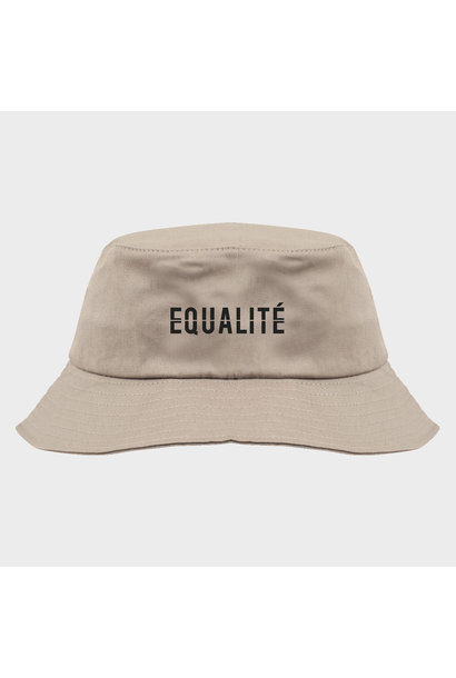 EQUALITE BUCKET HAT - SAND