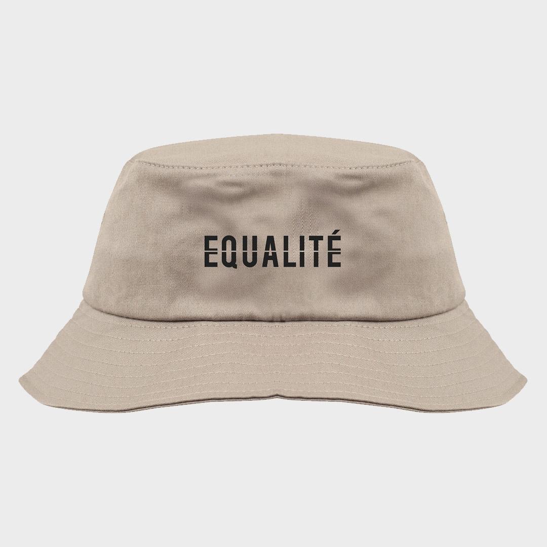 EQUALITE BUCKET HAT - SAND-1