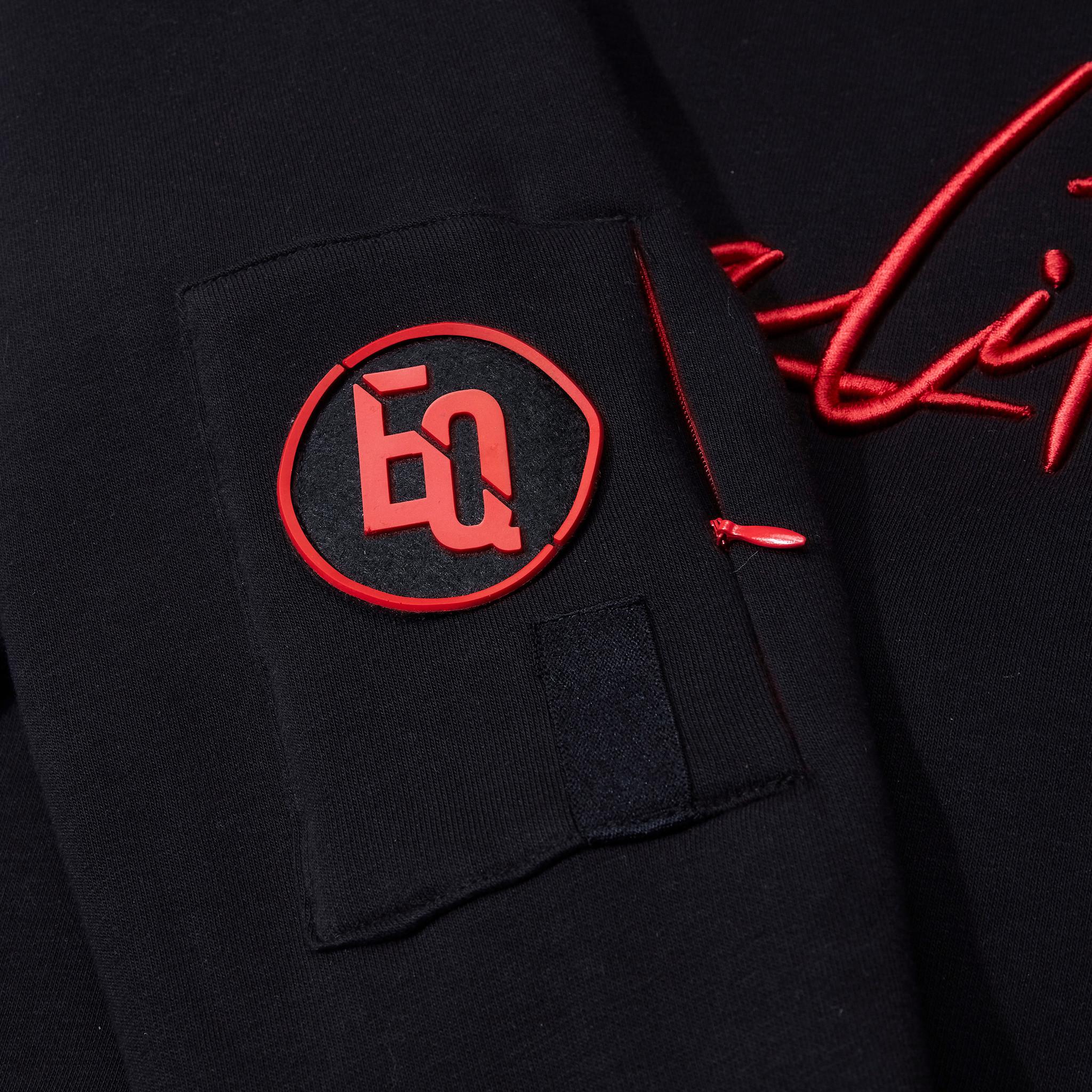 SIGNATURE HOODIE BLACK & RED-4