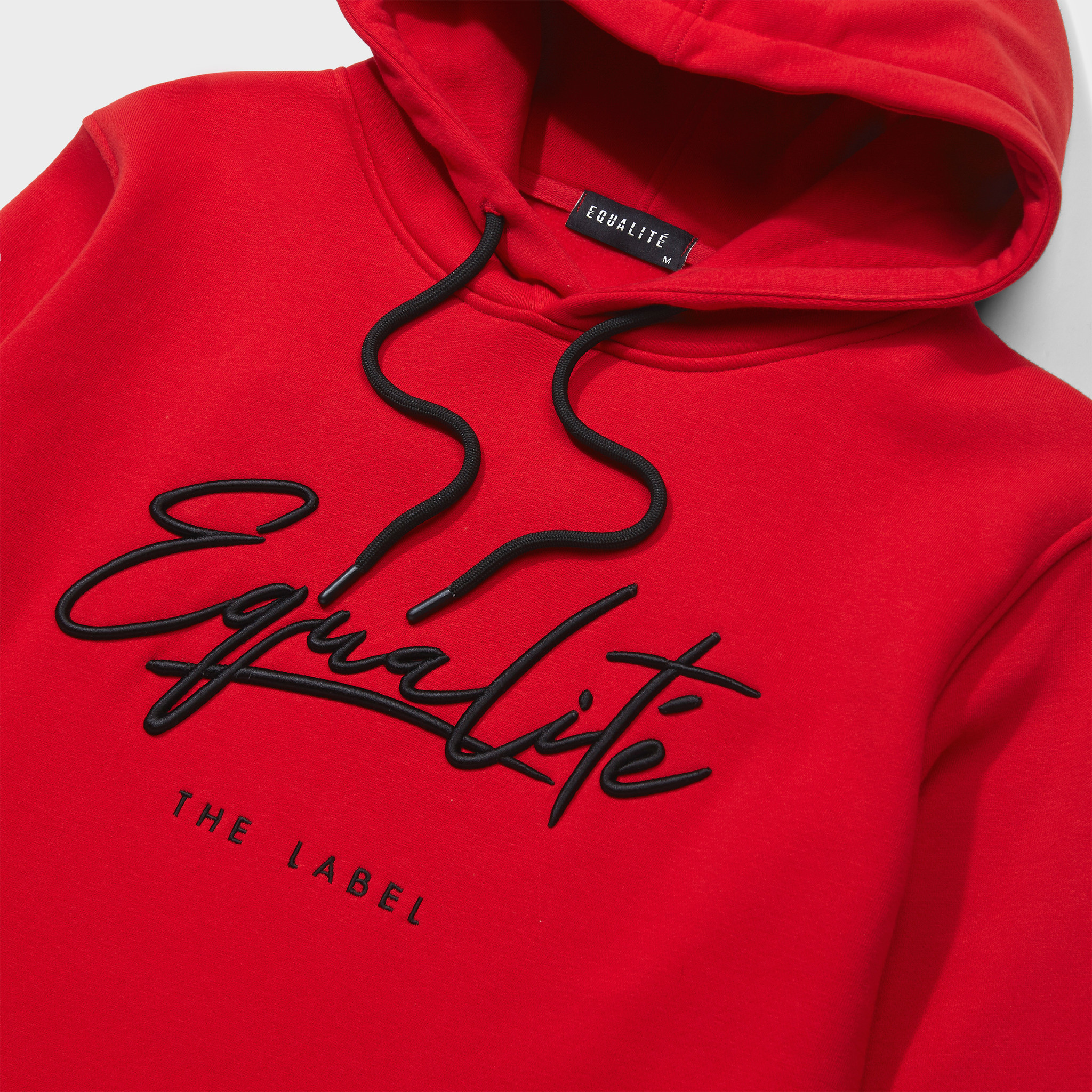 SIGNATURE HOODIE RED & BLACK-3