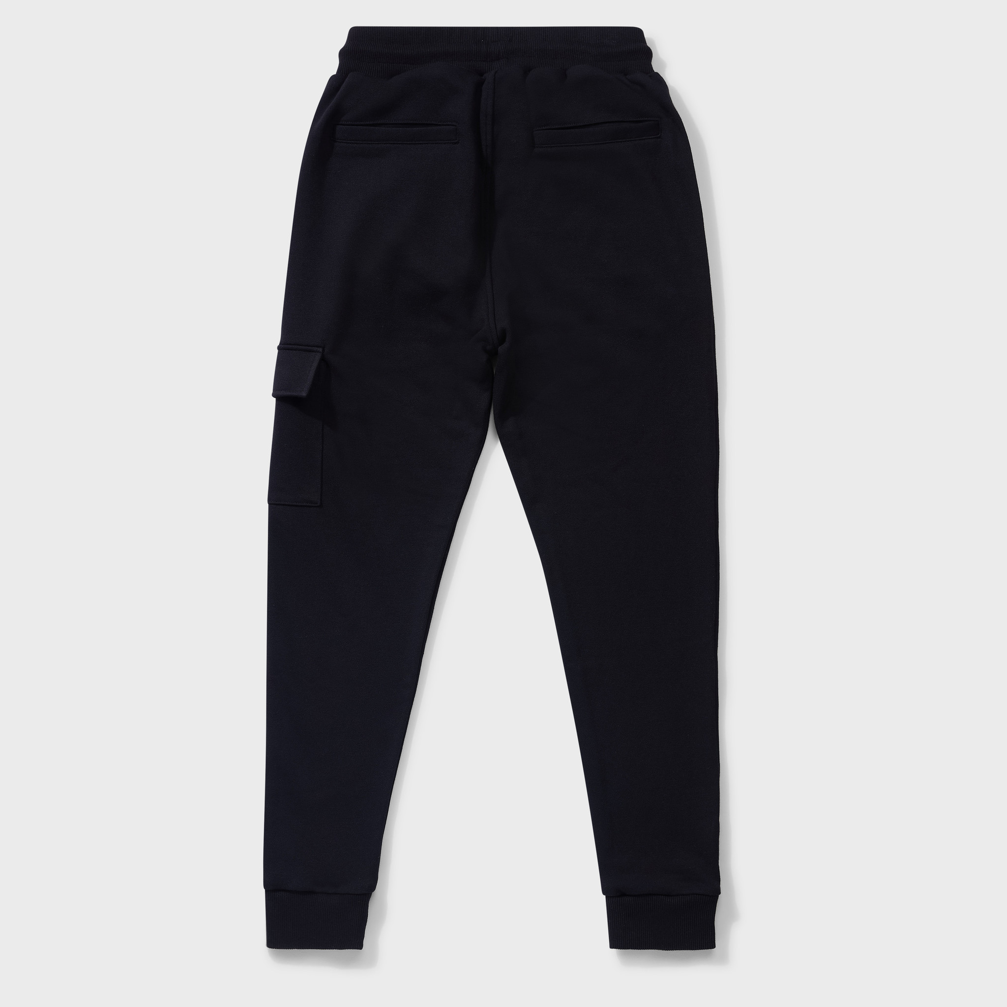 CARGO SWEATPANTS BLACK & RED-2