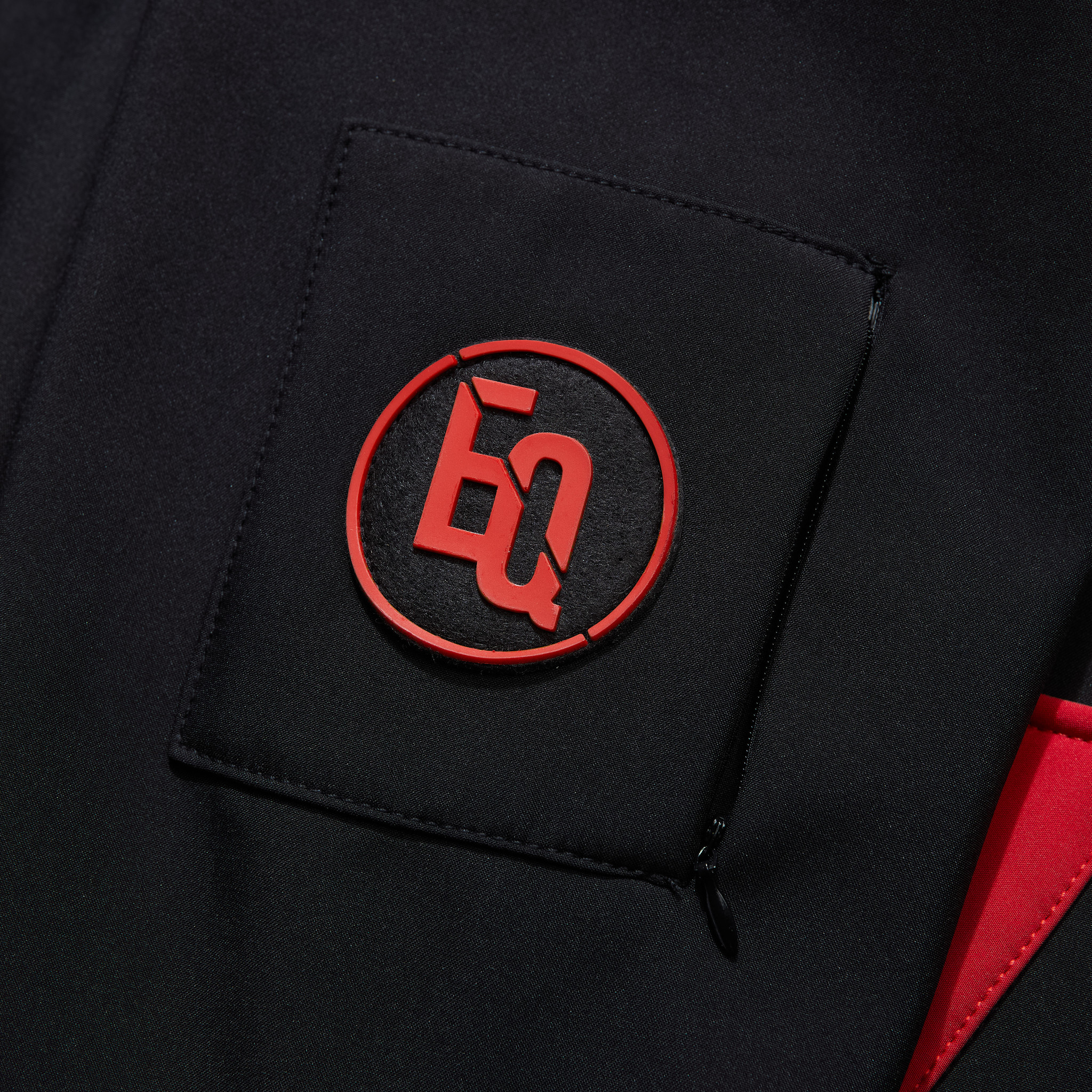 SOFT SHELL JACKET BLACK & RED-4