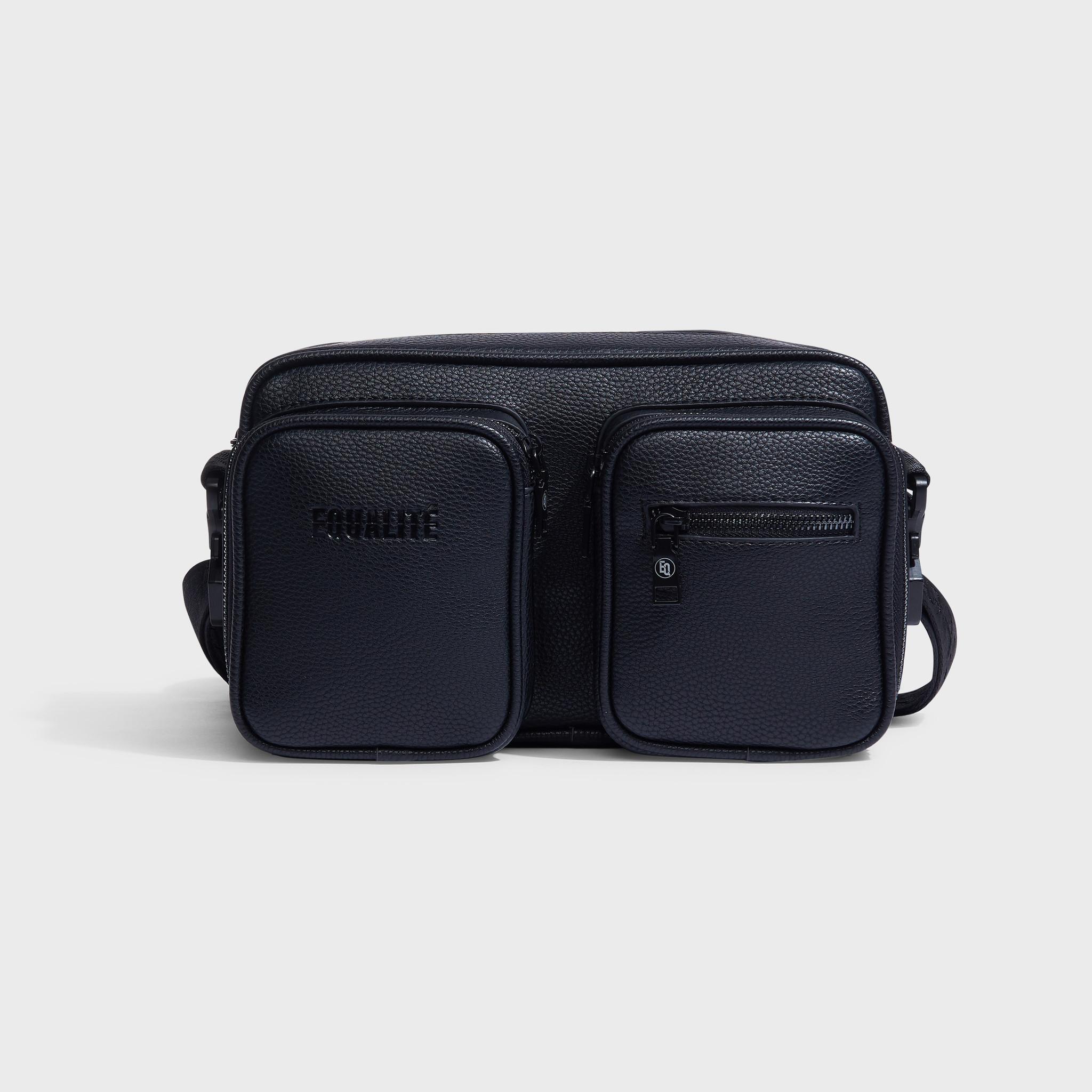 Pocket messengerbag black-1