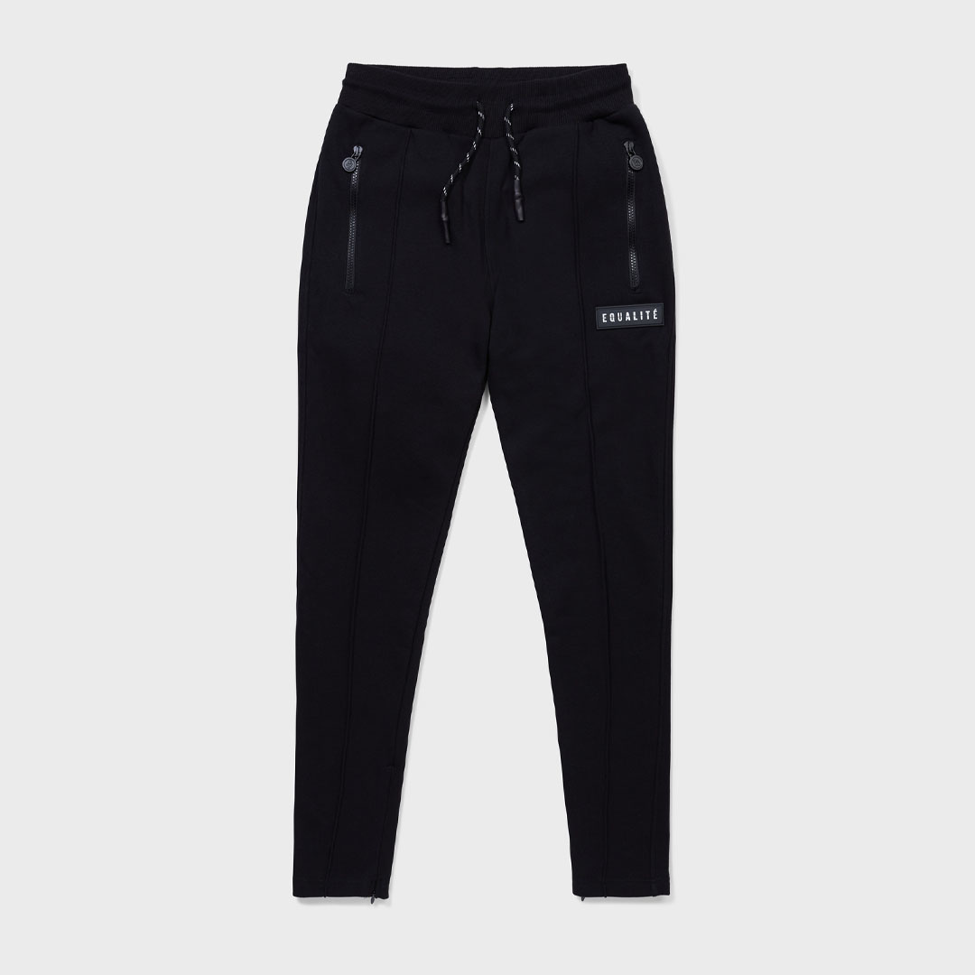 TRACK PANTS BLACK-1