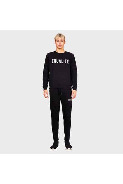 ESSENTIAL TRACK PANTS BLACK