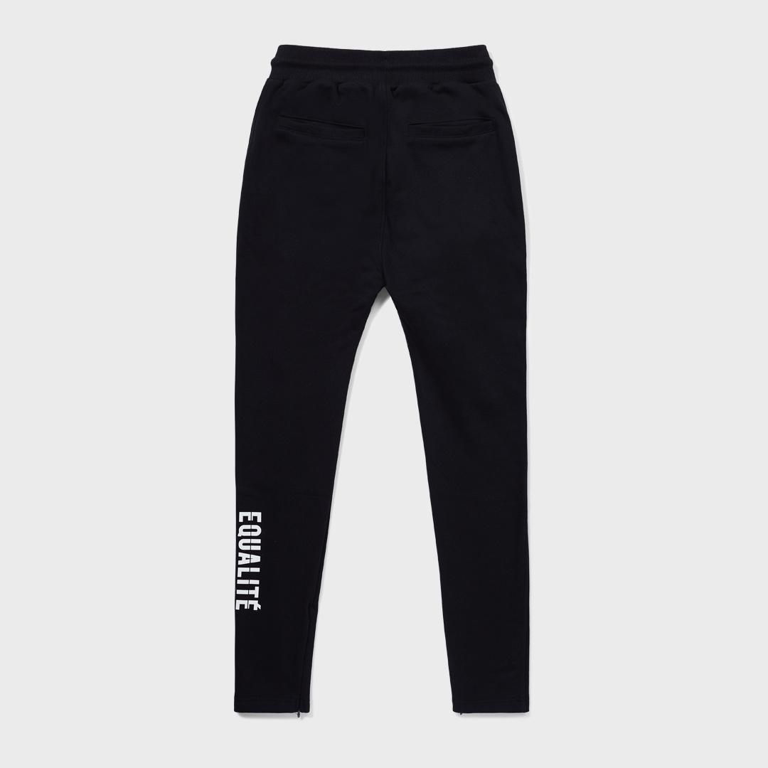 TRACK PANTS BLACK-2