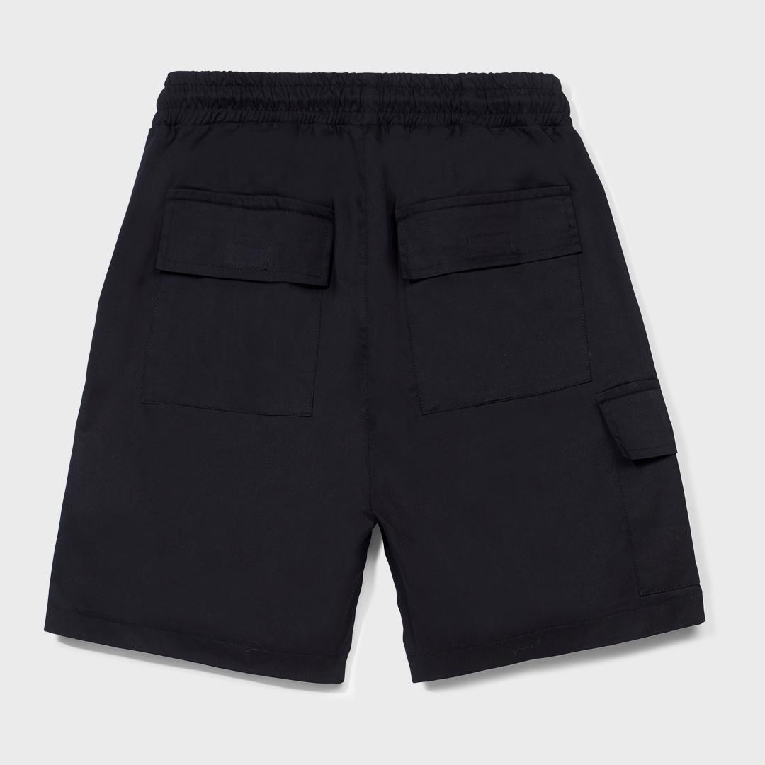 CARGO SHORTS BLACK-2