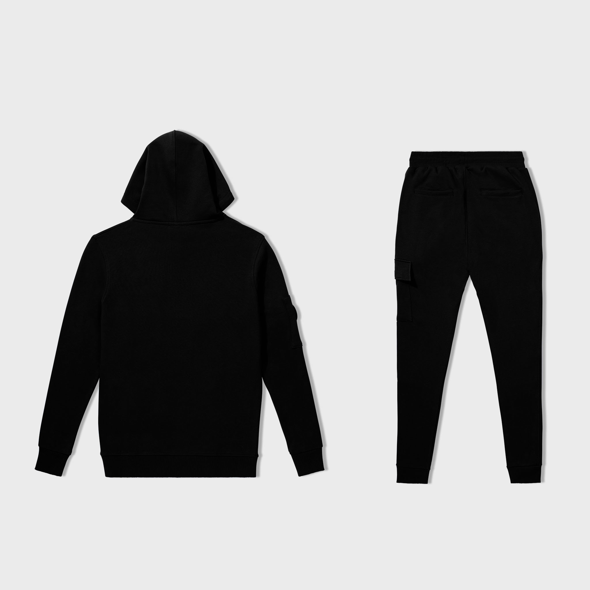 SIGNATURE TRACKSUIT BLACK & WHITE-2