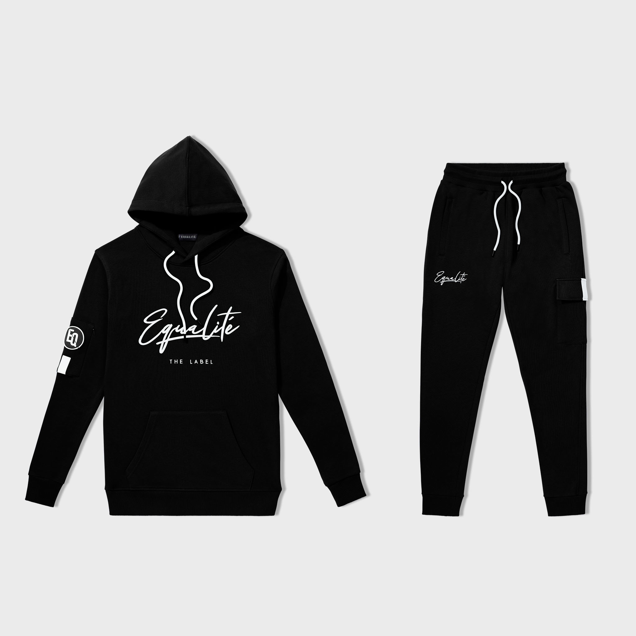 SIGNATURE TRACKSUIT BLACK & WHITE-1