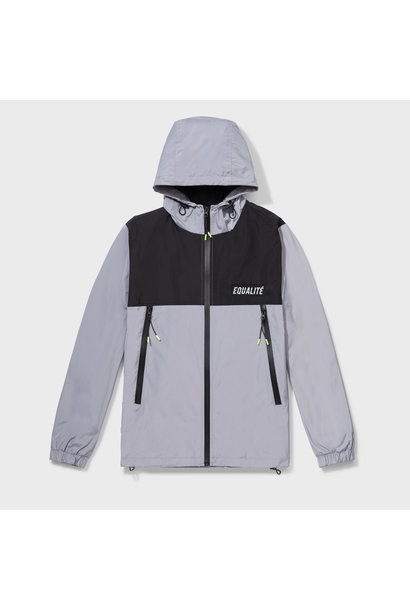 ALIX WINDBREAKER BLACK & GREY