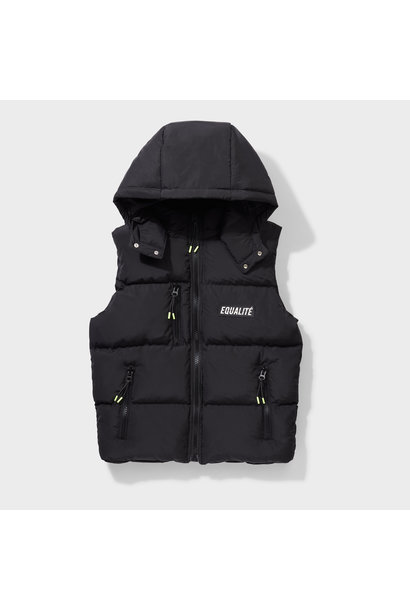KALEB BODYWARMER BLACK