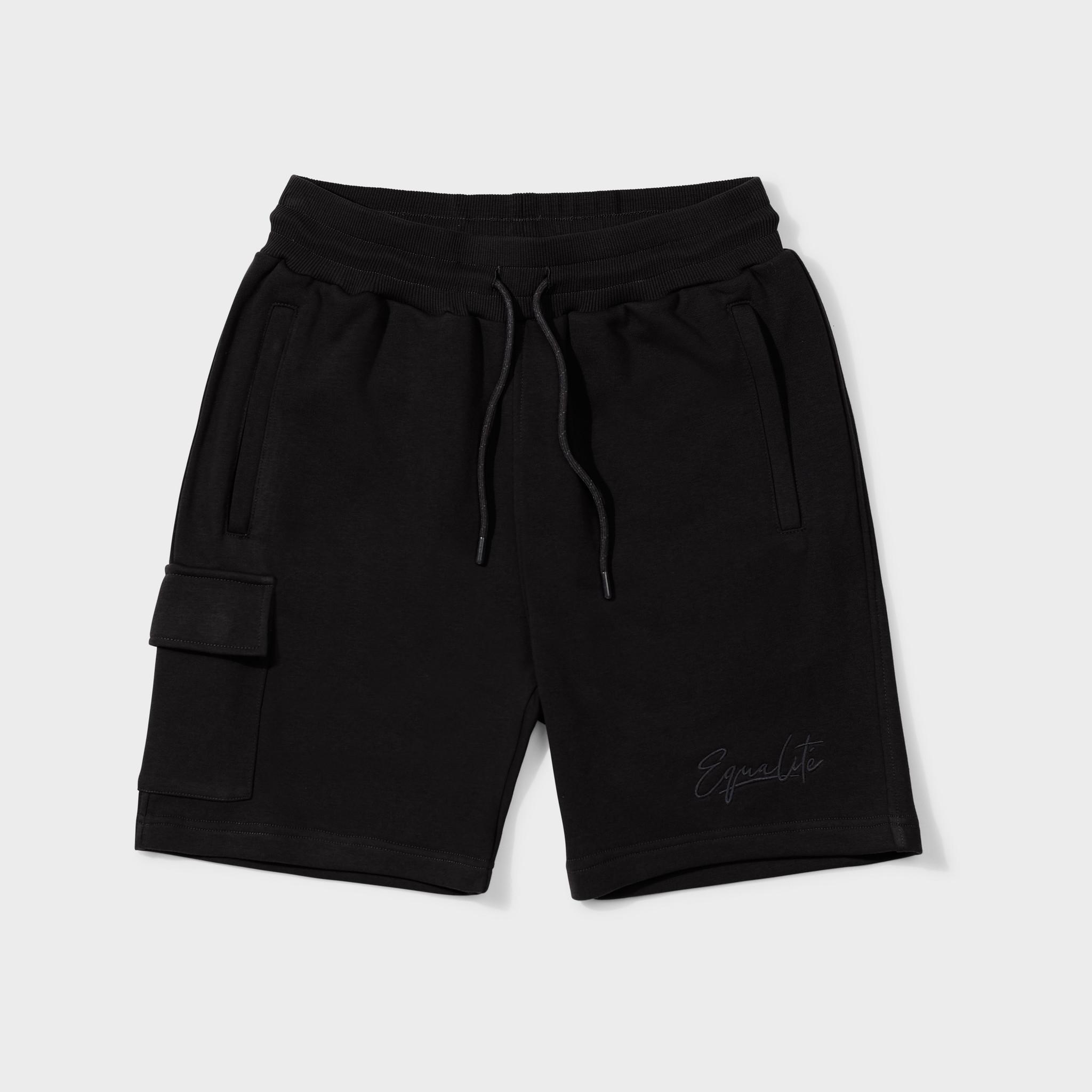 Wafi signature shorts black & antra-1