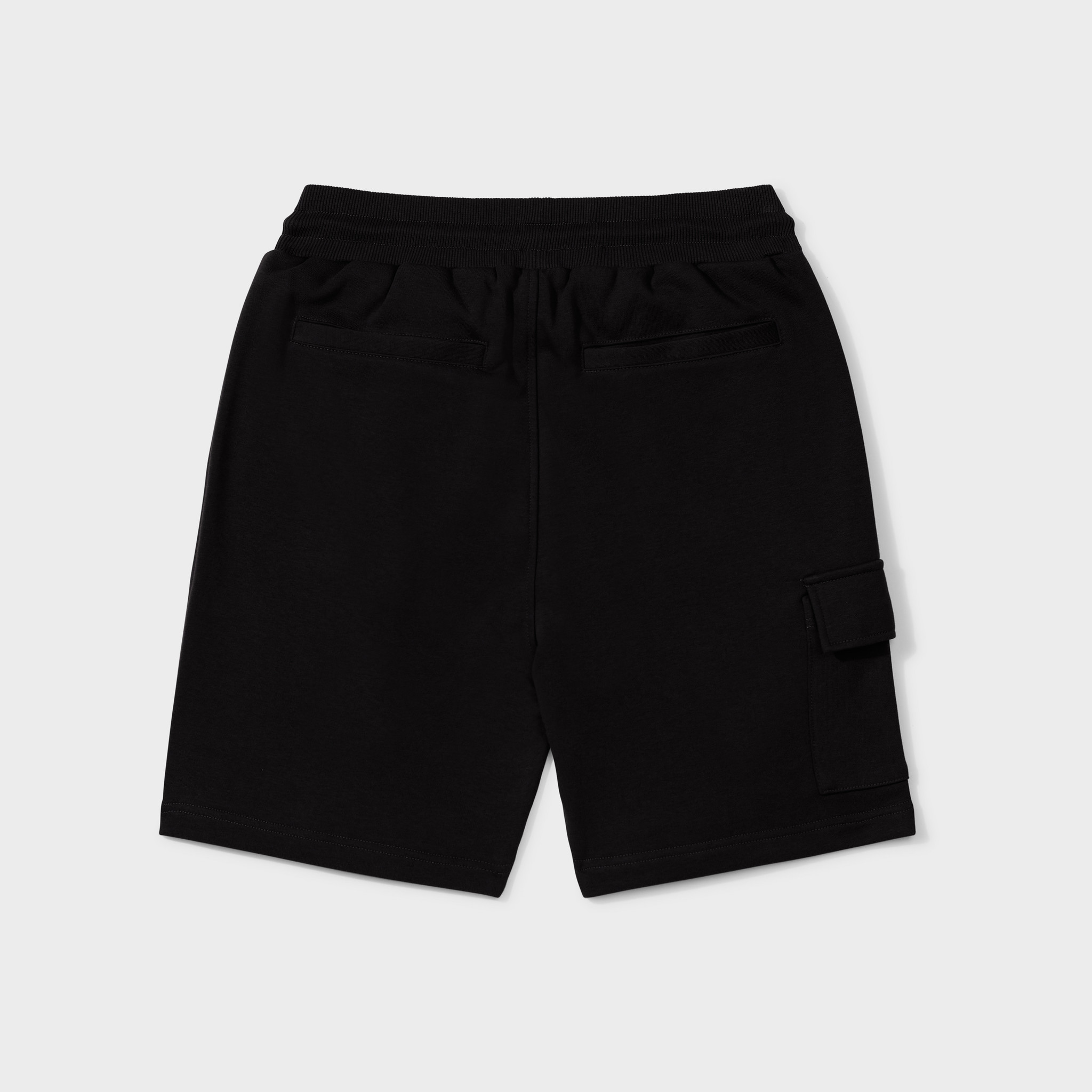 Wafi signature shorts black & antra-2