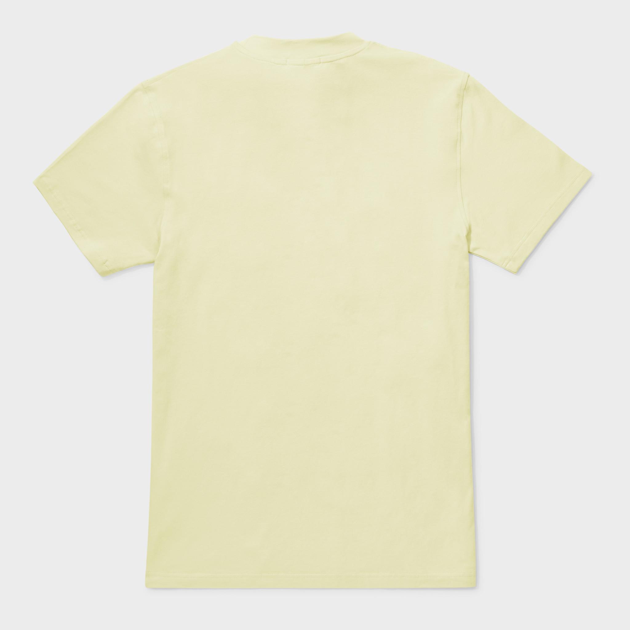 Travis tee yellow-2