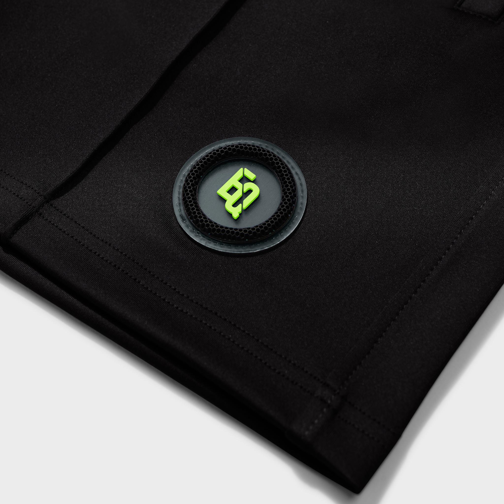 Demir carbon shorts black-3