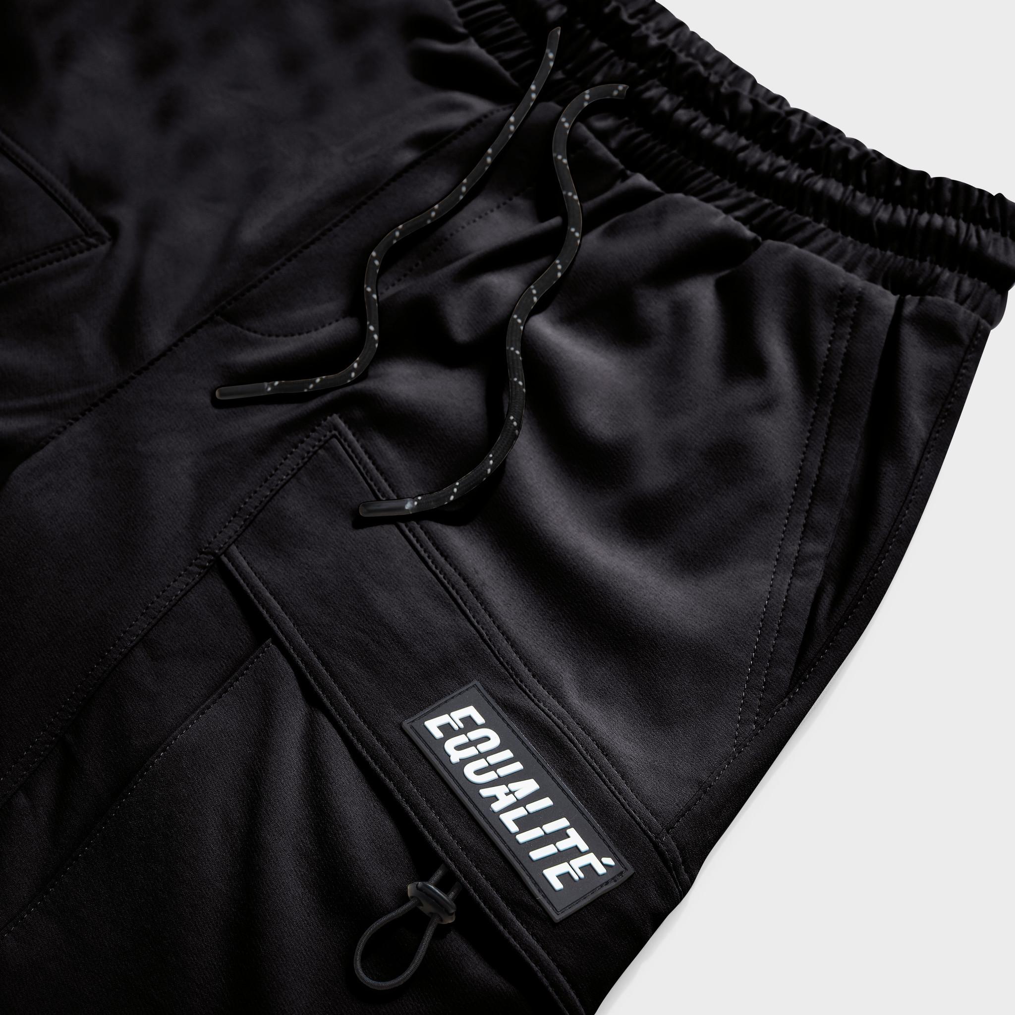 Rafa cargo shorts black-3