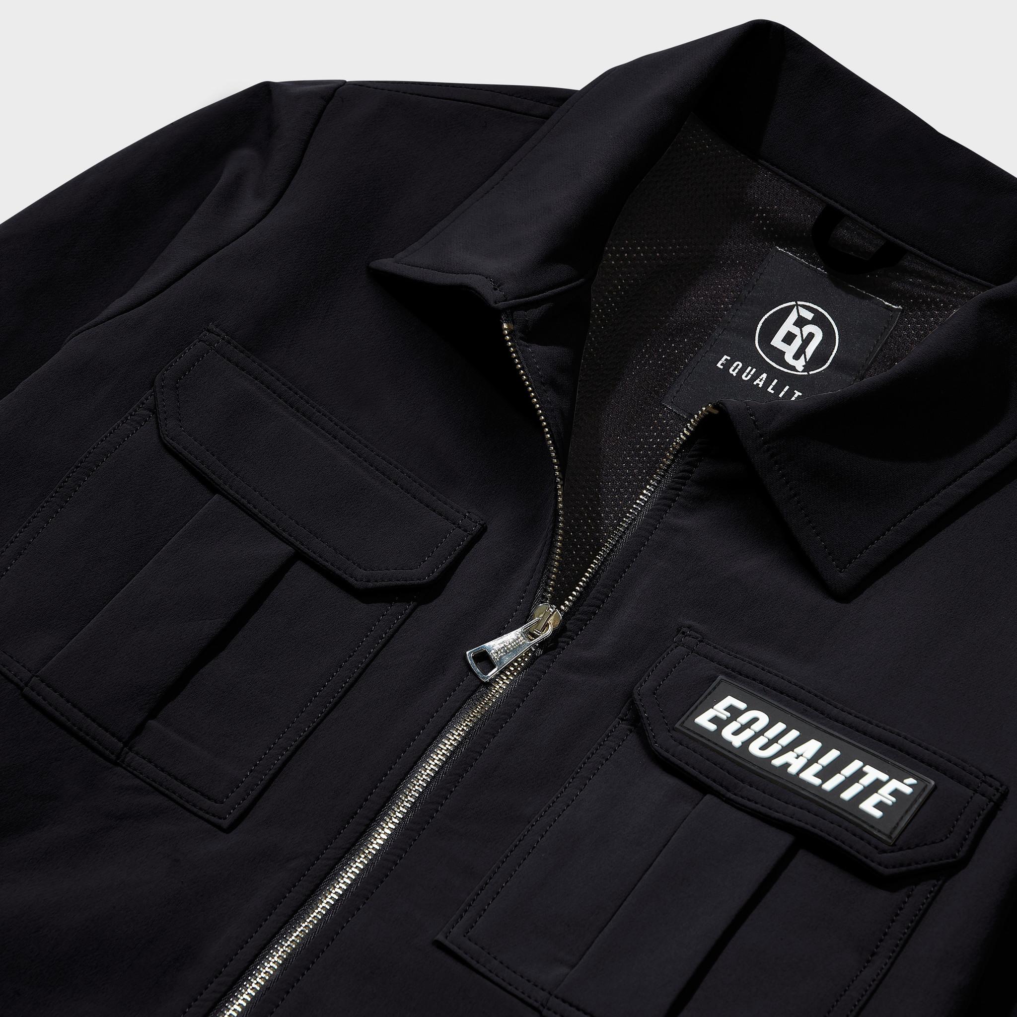 Cargo jacket black-3