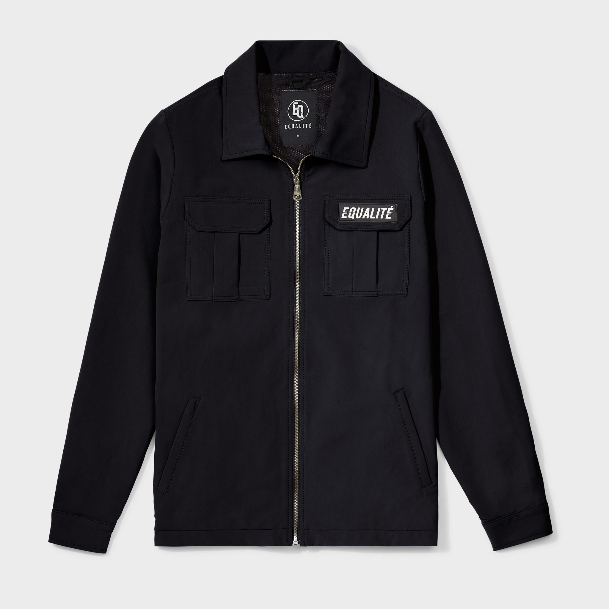 Cargo jacket black-1