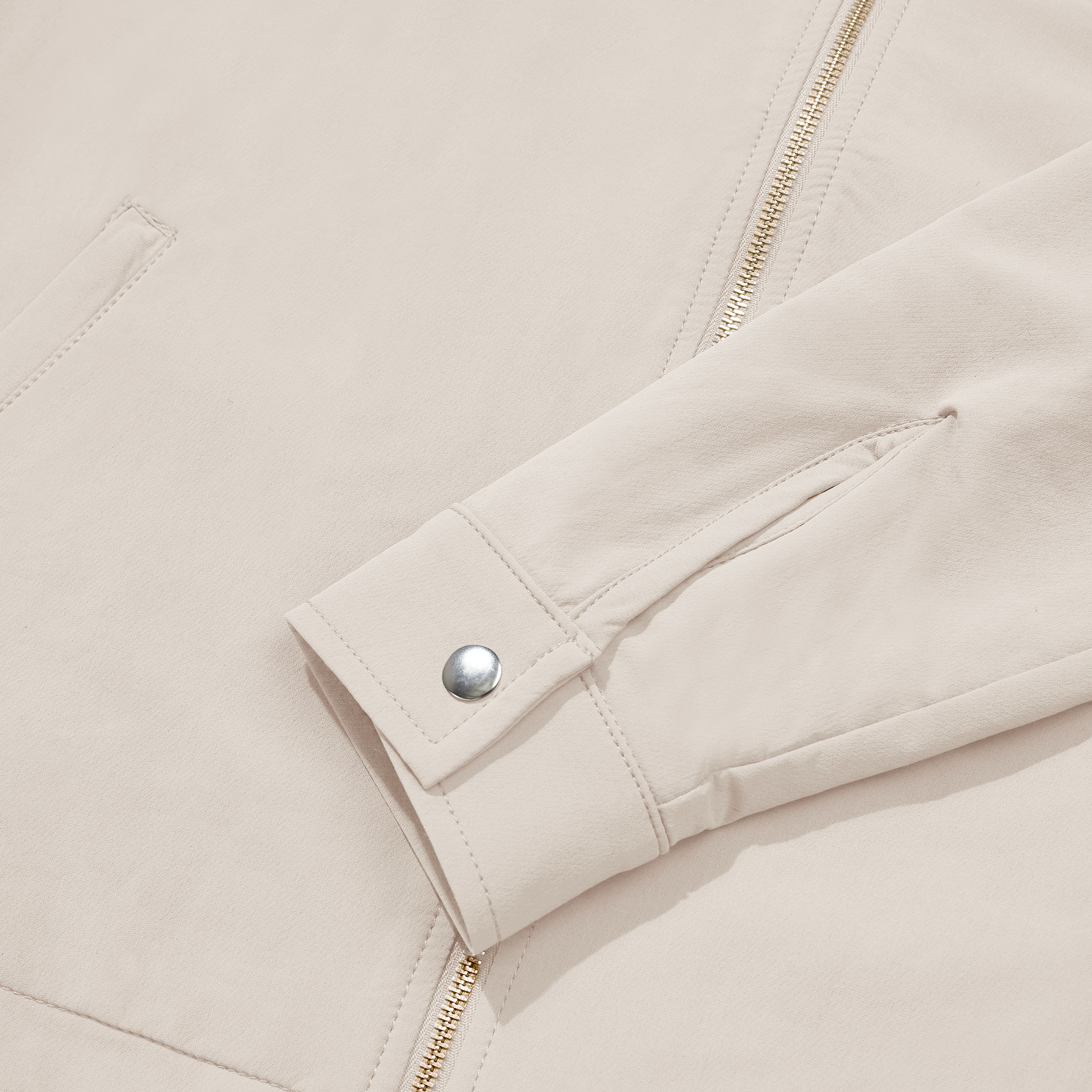 Cargo jacket beige-4