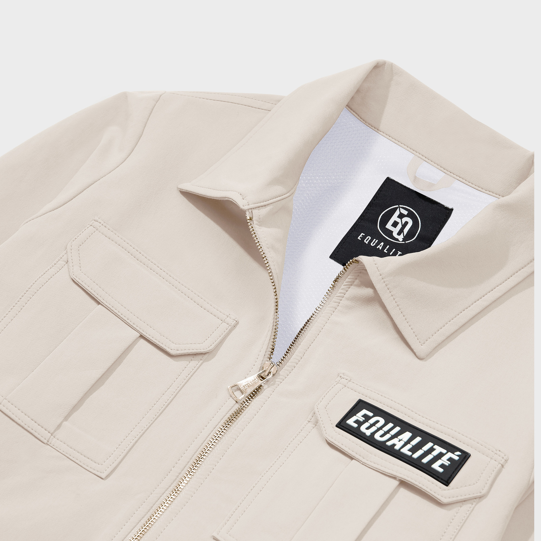 Cargo jacket beige-3