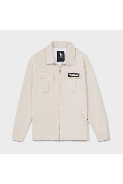 Cargo jacket beige