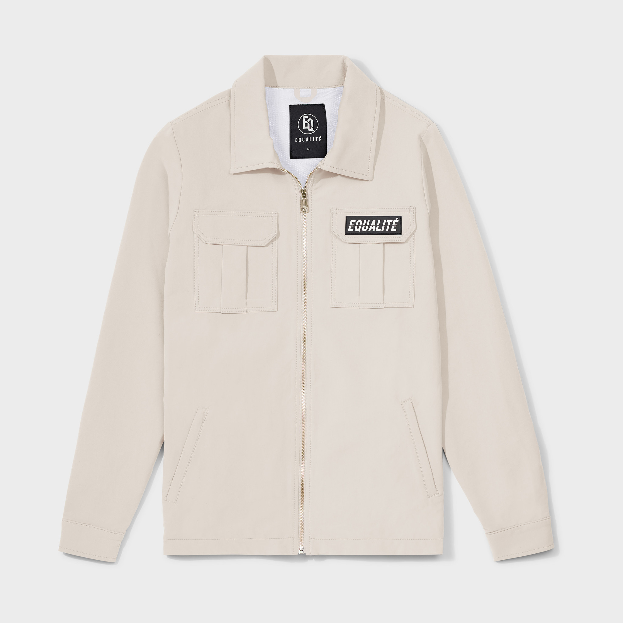 Cargo jacket beige-1