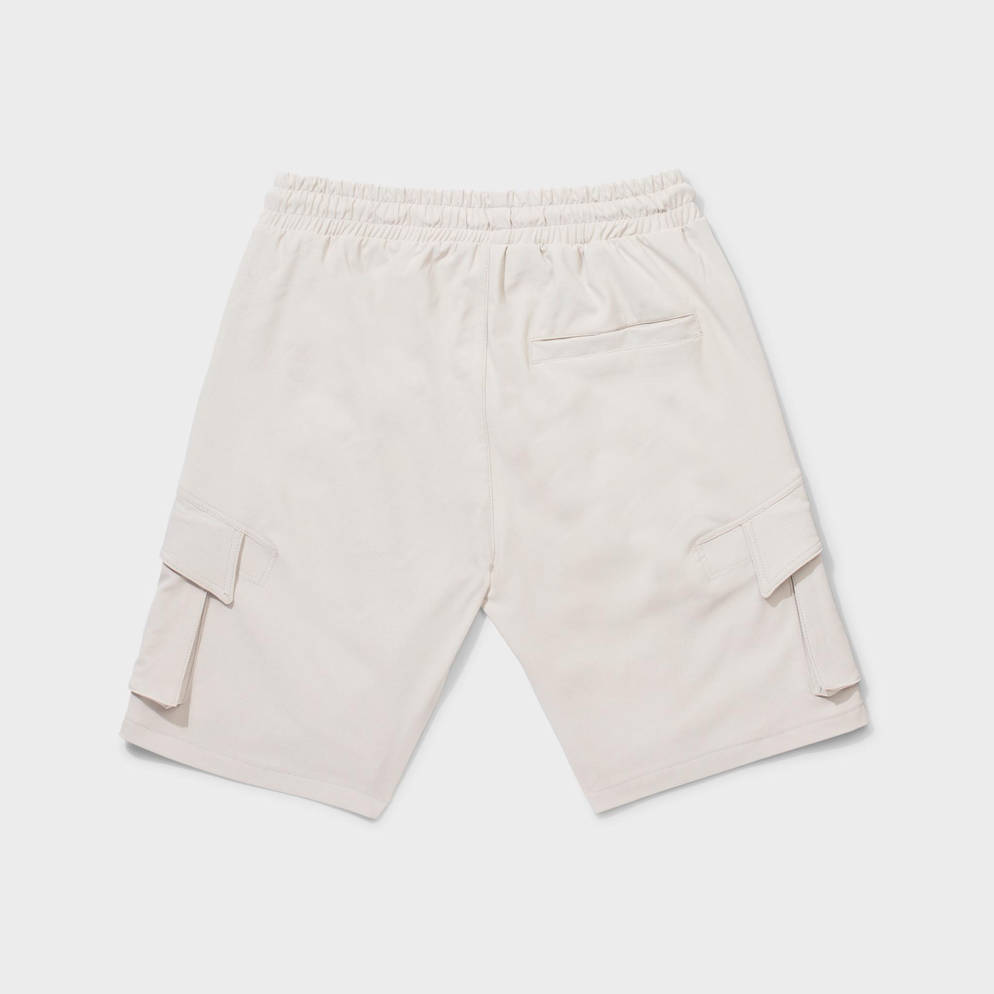 Rafa cargo shorts beige-2