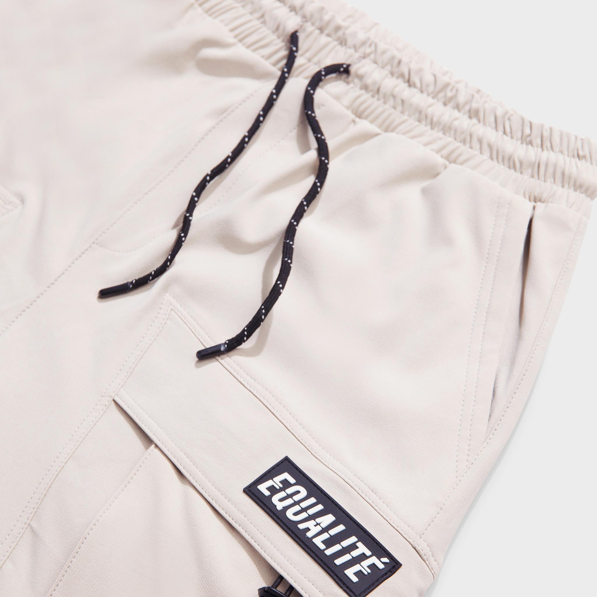 Rafa cargo shorts beige-3