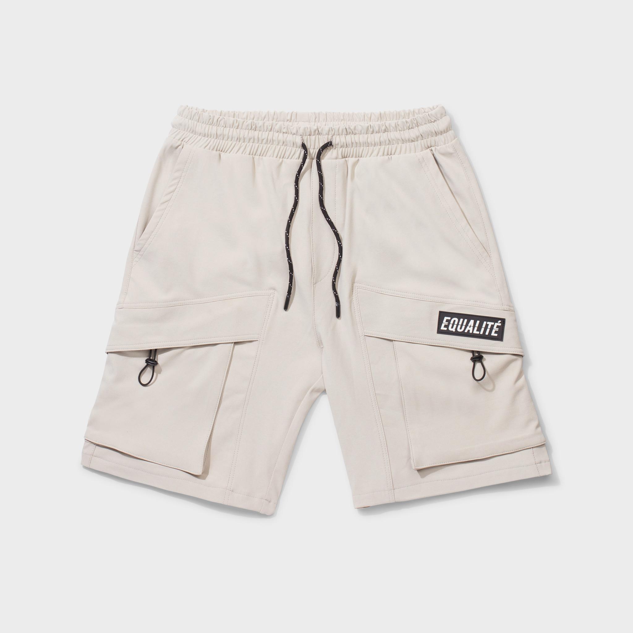 Rafa cargo shorts beige-1