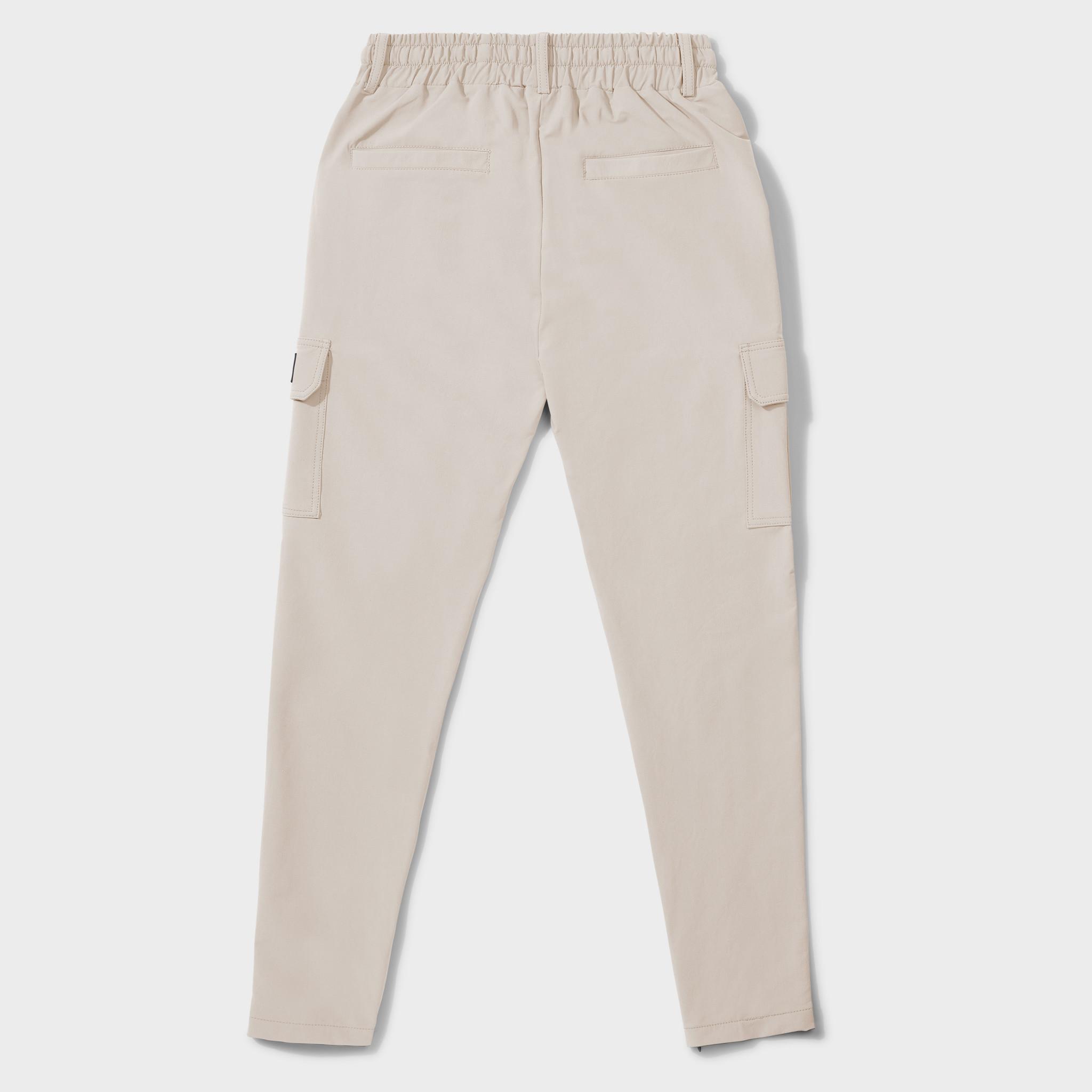 Cargo pants beige-2