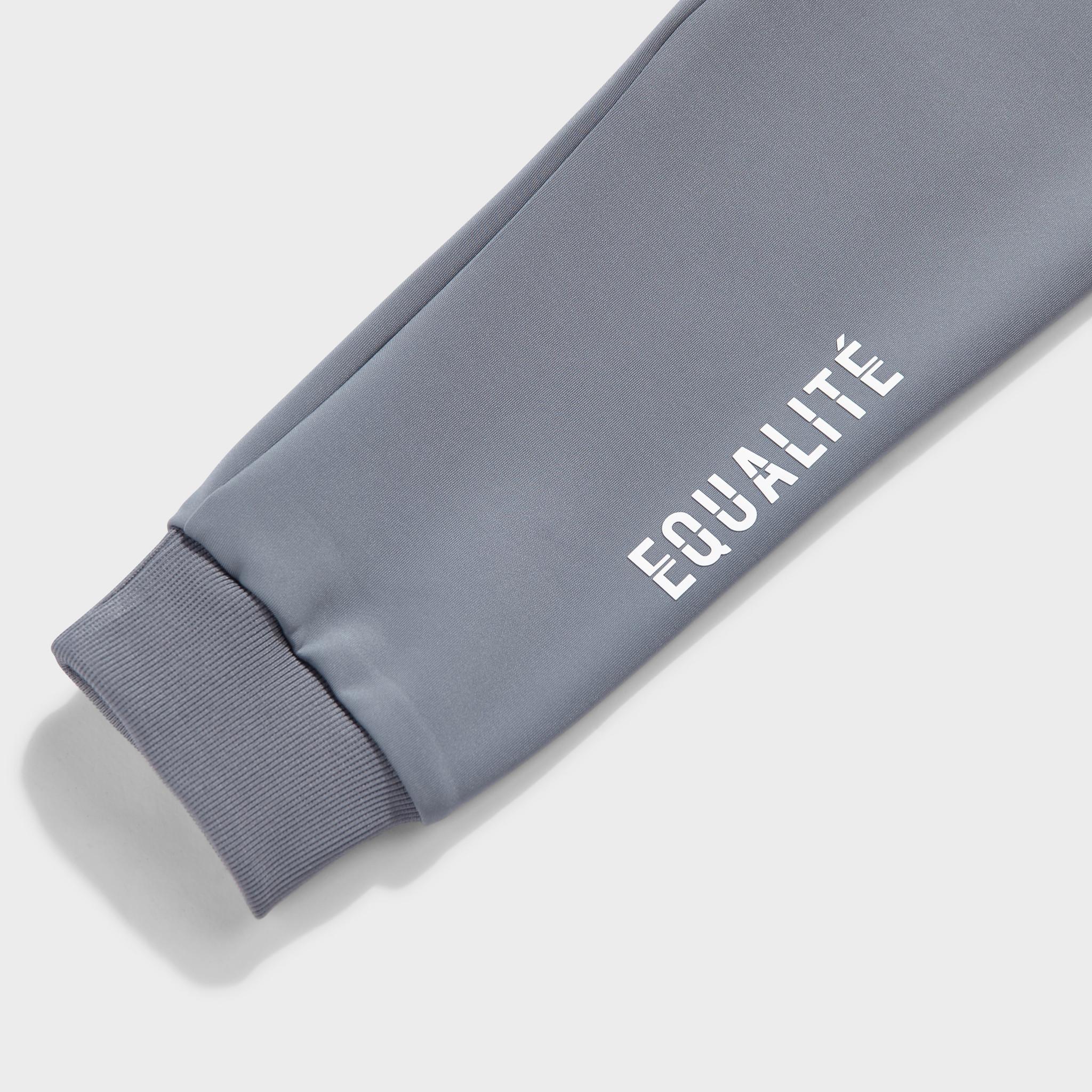 Future polyester tracksuit grey & light blue-8