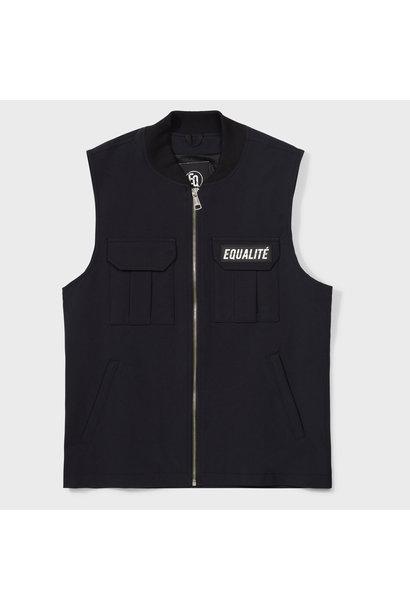 Cargo vest black